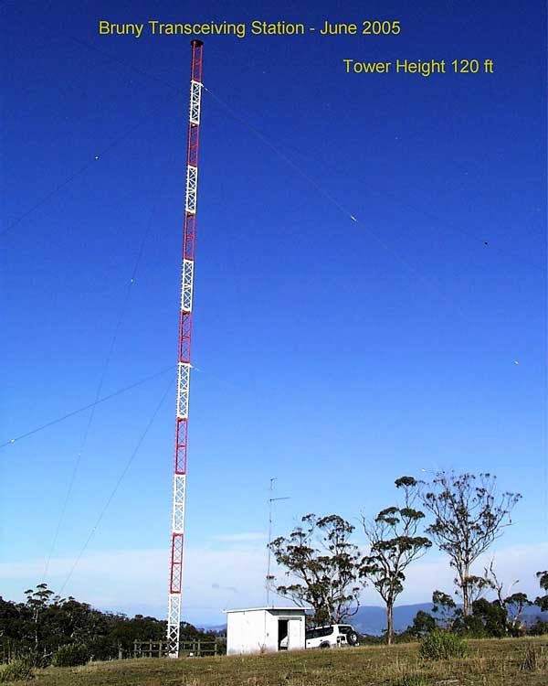 Bruny Island tower & hut 2005